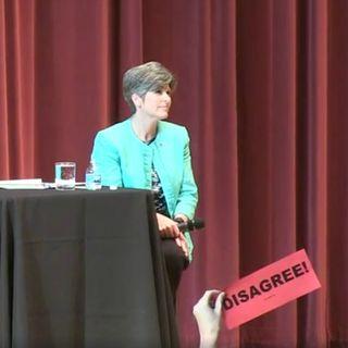Discussing Senator Joni Ernst's Des Moines Forum with Indivisible Iowa