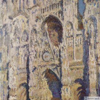 La serie di cattedrale di Rouen Monet