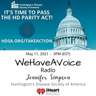 WeHaveAFace PSA - HDSA: HD Parity Act with Jennifer Simpson!