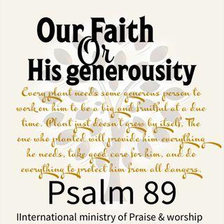 Our faithfulness or His mercies