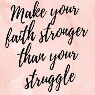Struggling with Faith