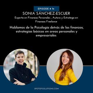 Sonia Sánchez-Escuer - Especialista en Finanzas Personales & Freelanceologa E7