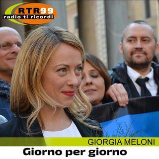 Giorgia Meloni a RTR 99