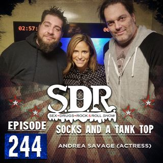 Andrea Savage (Actress) - Socks And A Tank Top