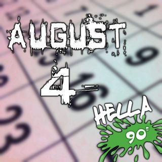 August 4 - This Day in 90s History