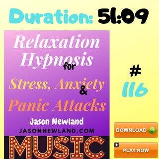 """#116 Relaxation Hypnosis for Stress, Anxiety & Panic Attacks - MUSIC - """"STRONGER IMMUNE SYSTEM RELAXATION"""" (11th April 2020)"""