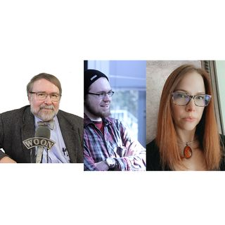 """Show #915: October 3, 2021 - """"Open Lines"""" with Paul & Ben Eno and Valerie Lofaso (1240 AM & 99.5 FM)"""