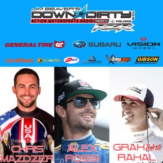 #339 Alex Rossi, Graham Rahal, & Chris Mazdzer On Air!