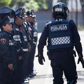 Policías con sobrepeso se quedaran en casa