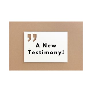 Episode 42 - A New Testimony