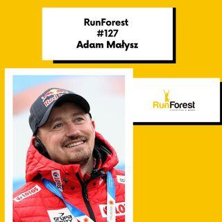 Adam Małysz - sportowiec fenomenalny w RunForest Podcast #127