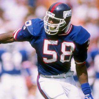 NFL Legends show:Carl Banks Legendary New York Giants Linebacker!
