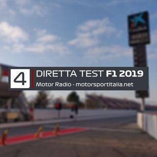 Diretta Test Barcellona 2019, Giorno 4