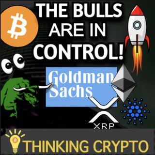 Bitcoin Pumps To $40K - Goldman Sachs DeFi ETF - Amazon Crypto Update