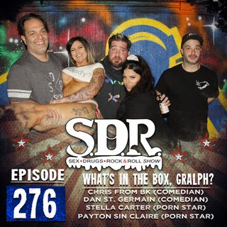 Dan St. Germain, Chris From BK, Payton Sinclair & Stella Carter (Comedian, Host & Porn  Stars) - What's In The Box, Gralph?