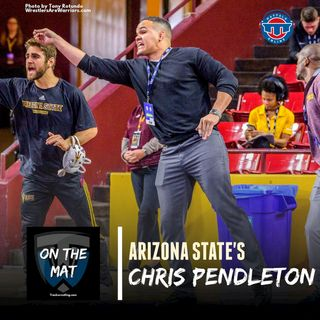 Arizona State assistant coach Chris Pendleton - OTM591