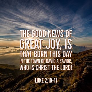 Jesus Birth Is the Beginning of God's Great Rescue Mission for Mankind.