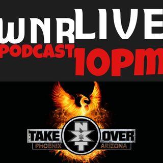 WNR201 WWE NXT TAKEOVER PHOENIX