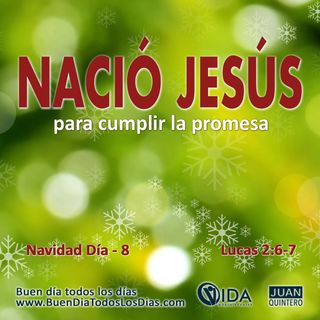 DEVOCIONAL DE NAVIDAD 8 – NACIÓ JESÚS