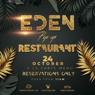 Eden Pop Up Restaurant Mix (Niqo Vybz & Gunner)