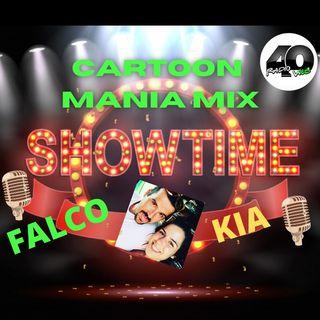 "Radio 40 "" Cartoon Mania Mix"" dal 1980 al 1990"