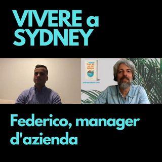 Federico, manager a Sydney