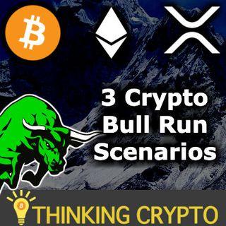 3 CRYPTO BULL RUN SCENARIOS - Bitcoin $80,000, Ethereum $5,704, XRP $15.20
