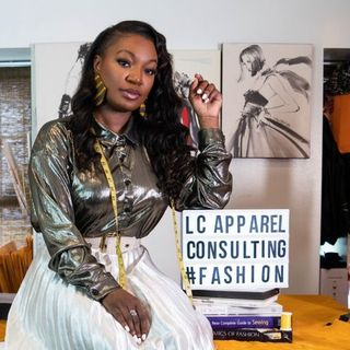 Fashion Designer and Entrepreneur Lenese Calleea stops by #ConversationsLIVE ~ @LCALLEEAVATEIN #fashiondesigner #branding