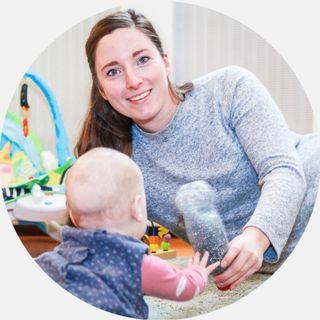 Podcast over werken met baby's