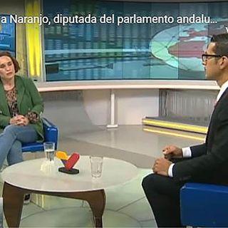 Entrevista en Venezolana TV a Ana Naranjo, diputada de Adelante Andalucía