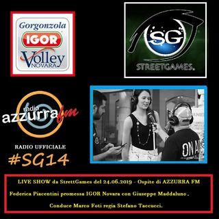 AZZURRA FM SG14 Federica Piacentini IGOR