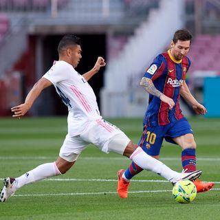 como mire al barcelona en la derrota frente al real madrid