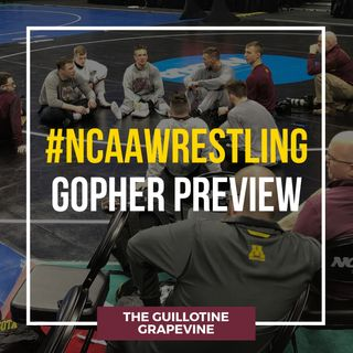 Gopher Wrestling NCAA Preview with head coach Brandon Eggum - GG55