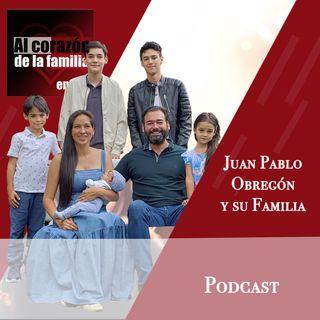 Entrevista Juan Pablo Obregón y Familia