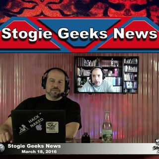 Stogie Geeks News - March 18, 2016