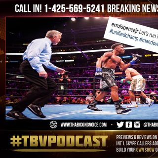 "☎️Errol Spence Jr., Wants Shawn Porter Rematch ""Let's Run It BACK""🔥❗️"