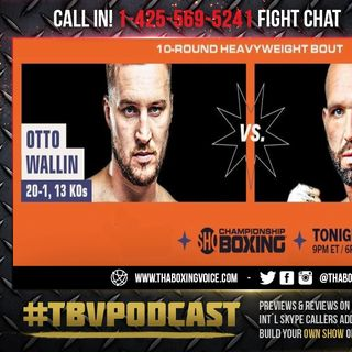 ☎️Otto Wallin vs. Travis Kauffman🔥Live Fight Chat🥊