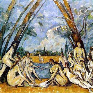 Le grandi bagnanti Paul Cézanne