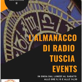 L'almanacco di Radio Tuscia Events del 18 dicembre