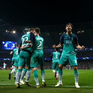 Ep. 90 (Juve - Ajax, Barça - United e City - Tottenham)