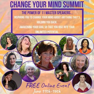 Change Your Mind, A Free Online Event with host Kornelia Stephanie!
