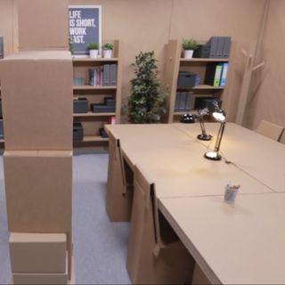 Aspettando Piero #8 - L'ufficio di cartone