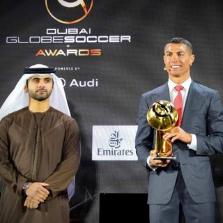 Cristiano Ronaldo Globe Soccer Award