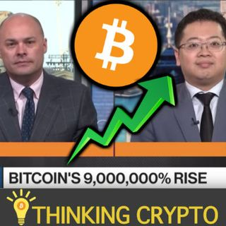 BITCOIN'S 9,000,000 PRICE GROWTH Highlighted by Bloomberg