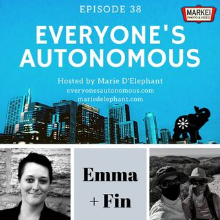 Episode 38: Emma & Fin, Normalizing Non-Monogamy Podcast