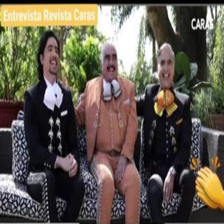 VicenteFernandez, AlejandroFernandez y AlexFernandez #Entrevista #RevistaCaras LOS FERNÁNDEZ!😱