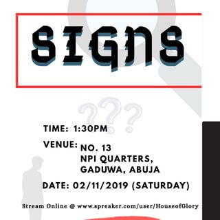 SIGNS - House of Glory