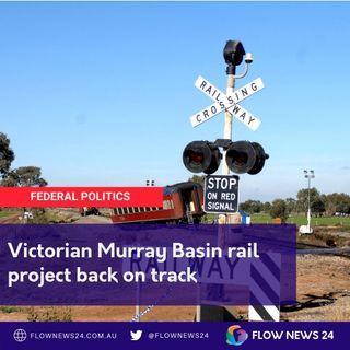 Vic Murray Basin Rail back on track thanks to @AnneWebsterMP #auspol #springst #vicpol