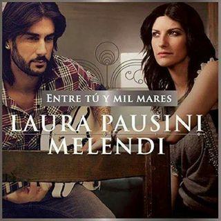Laura with Melendi ENTRE TÚ Y MIL MARES
