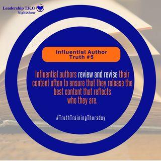 Influential Authorship Truth #5 | Lakeisha McKnight